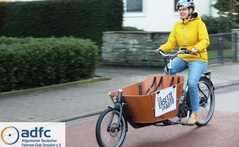 PM: ADFC Dreieich bietet sein Lastenfahrrad zum Ausleihen an – Gratis!
